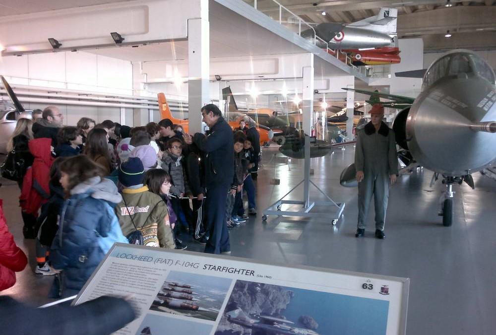 Al Museo dell'Aeronautica di Vigna di Valle