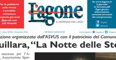 """La Notte delle Stelle – Redazionale sul mensile """"L'Agone"""""""