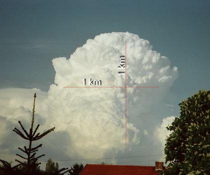 Ma quanto pesa una nuvola?